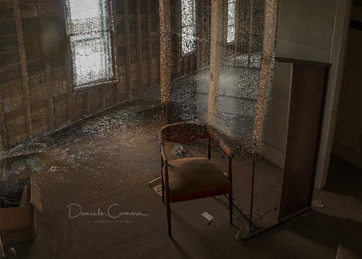 Abandoned Haunted House BEDROOM
